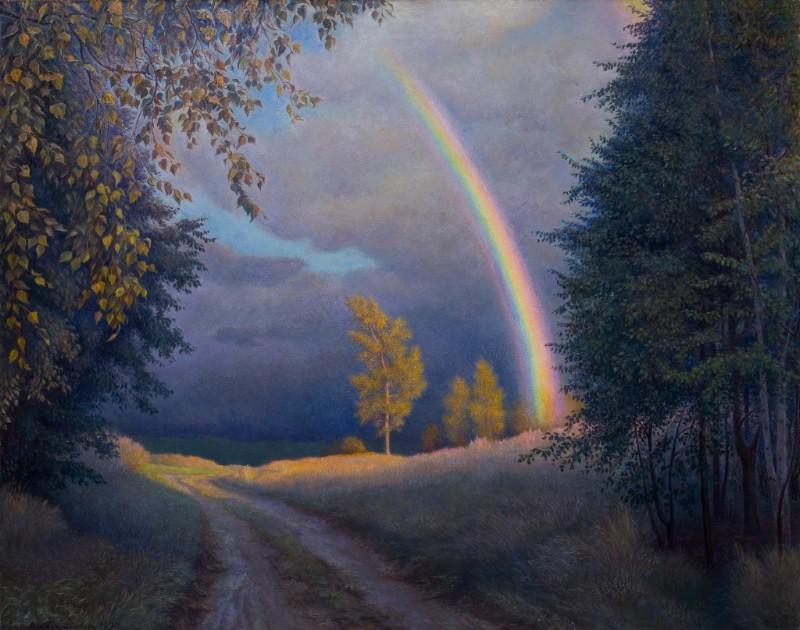 Выставка Николая Касаткина «Пространства картины»