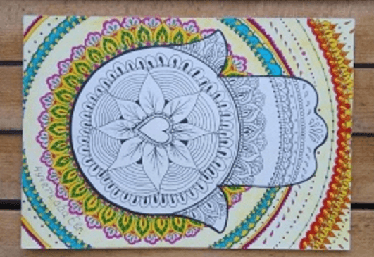 Мастер-класс по гармоничному рисованию «Секреты индийских узоров»