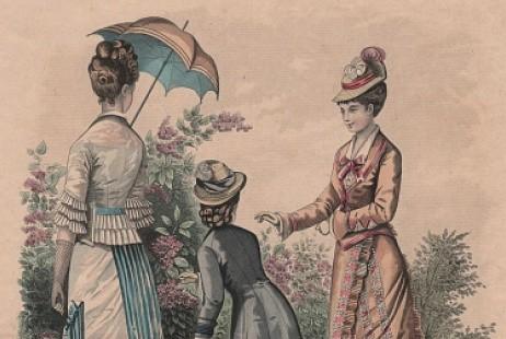 Выставка «Что носить в такую погоду? Для дам и кавалеров»