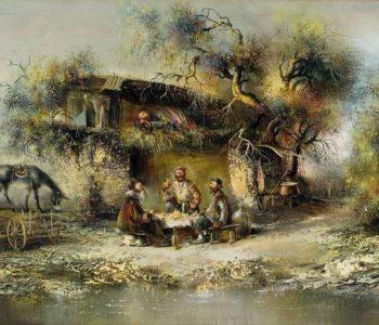 Совместная выставка грузинских художников в Батуми