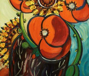 Цветы для Маэстро SZ. Зураб Церетели – Вячеславу Зайцеву