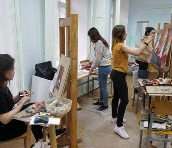 Открытие итоговой выставки работ участников II Международной творческой лаборатории молодых художников «BASHNYA»