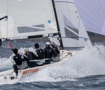 Команда ARTTUBE заняла 3 место в overall J70 Italian CUP 2019 J/70