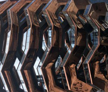 Шедевр дизайна или пчелиный улей? Смотровая площадка Vessel  – новая достопримечательность Нью-Йорка