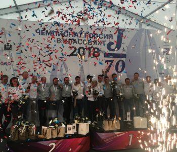 """Победитель зимней серии NSL """"Радио Монте Карло"""" класс яхт J/70"""