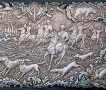 Выставка Александра Иванова «Декоративные фантазии на меди»