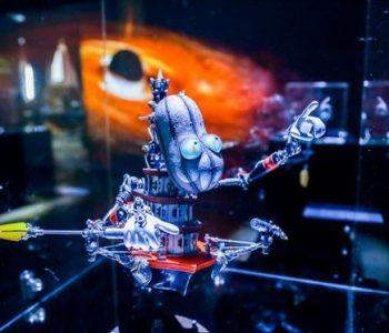 «ЭРА JIDAI» выставка механических существ техно-арта Ясухито Юдагава