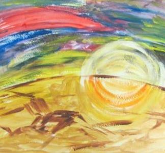 Выставка детских работ «Краски детства»