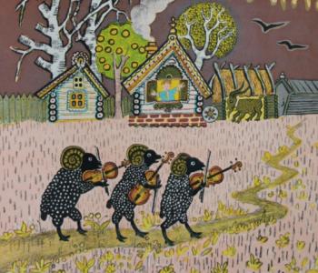 Выставка Юрия Васнецова «Вкус, знакомый с детства»