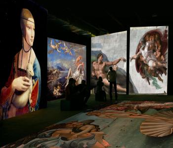 Выставка «Оживающие полотна. Ренессанс. Гении эпохи»